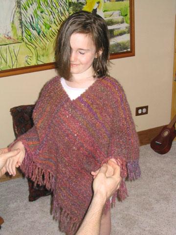 Yarn Companies Free Knitting Patterns : FUN FUR KNIT PONCHO PATTERN   1000 FREE PATTERNS